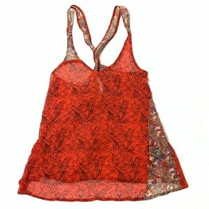 Women's Small Patterson J Kincaid Boho Tank Top